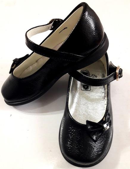 Zapatos Negros Nena Bautismo, Cortejo, Fiesta - Cari Bambini