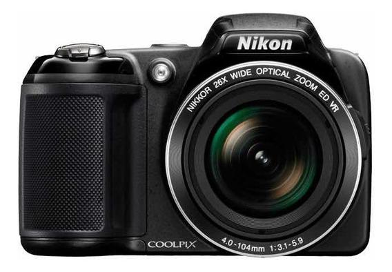 Câmera Semi Profissional Nikon Coolpix L810 16.1 Mp 26x Zoom