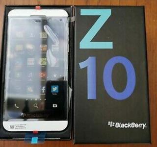 Blackberry Z10 Nuevo Liberado 4glte Garantía 32gb Tienda
