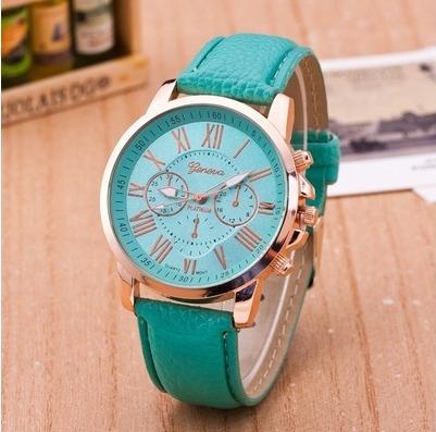 Relógio Feminino Elegante Quartzo Verde