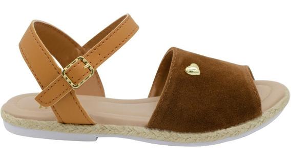 Sandalia Infantil Feminina Sapato Flatform Avarca Comforto