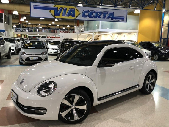 Volkswagen Fusca 2.0 Tsi * C/ Teto Solar * Top De Linha *