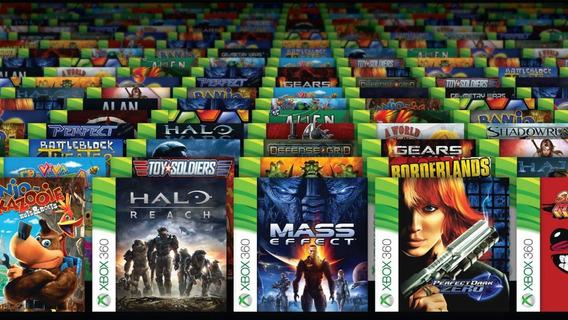 5 Jogos Paralelos Xbox 360 Com Capa E Impressão No Disco