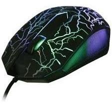 Mouse Para Juegos Gaming Gamers Alambrico Con Luces.