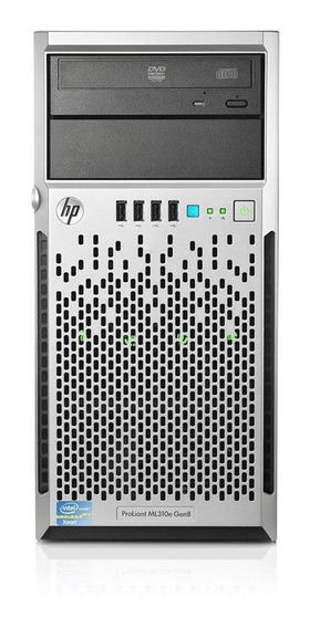 Servidor Hp Proliant Ml310e V2 G8 8gb Hd500 Completo! Novo!
