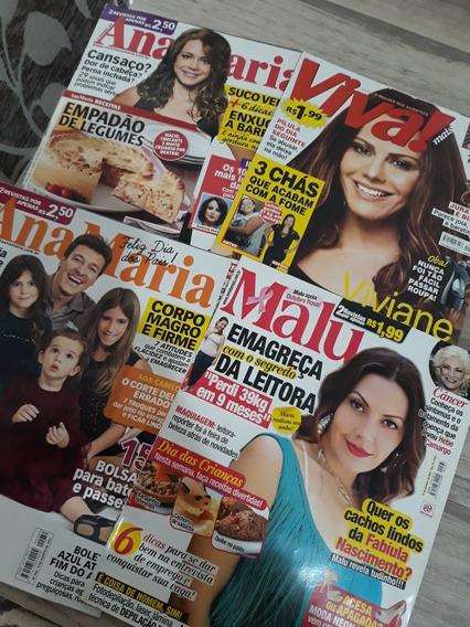 Lote Revista Viva Mais Malu 7 Dias E Ana Maria