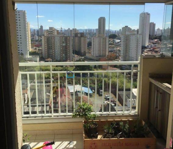 Apartamento Comtterraço Com Churrasqueira Na Vila Das Merces - Bi26823