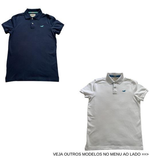 Camiseta Camisa Polo Hollister Vários Tamanhos E Modelos