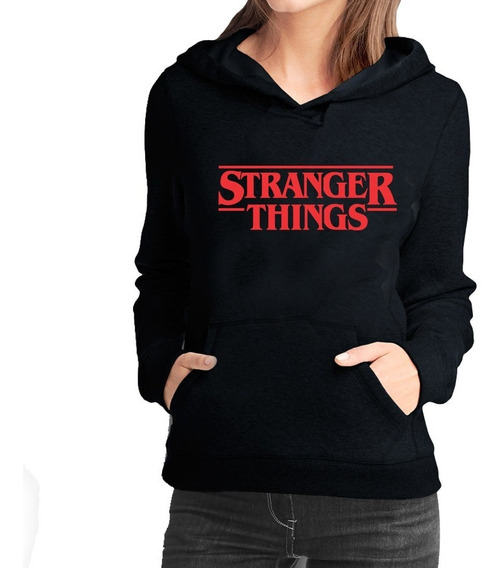 Blusa Moletom Stranger Things + Blusinha Friends Don