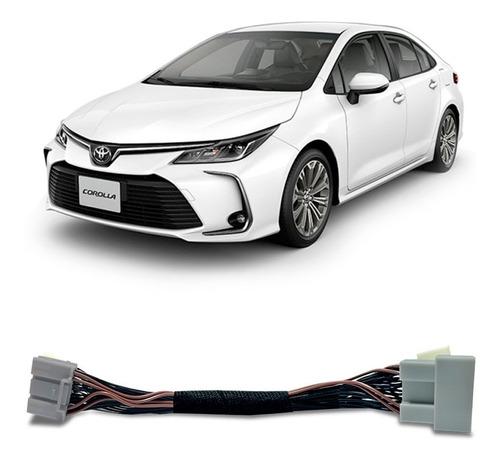 Desbloqueio De Tela Toyota Corolla 2020 Faaftech Interface