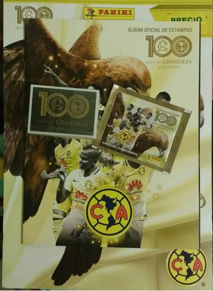 Estampas Panini Club América 100 Años