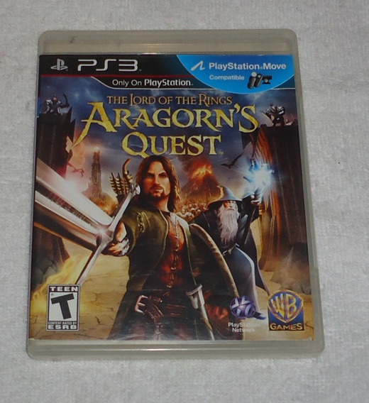 The Lord Of The Rings Aragorns Quest Ps3 * Frete Gratis Leia