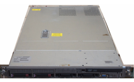 2 Servidores Hp Proliant Dl360 G5 Quad Core 2.0ghz 3gb 2x146