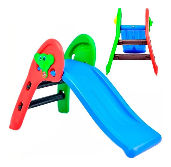Tobogan Osito Junior Plegable 2 Escalones Envios Rodacross
