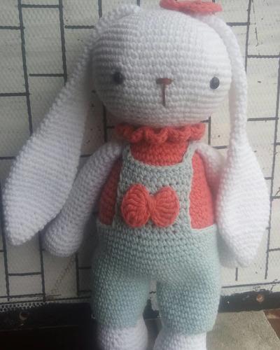 Amigurumi Coneja Rochi Al Crochet