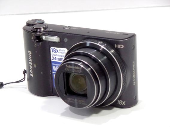 Camera Digital Samsung Wb150f 14mp Seminova Barata Brindes