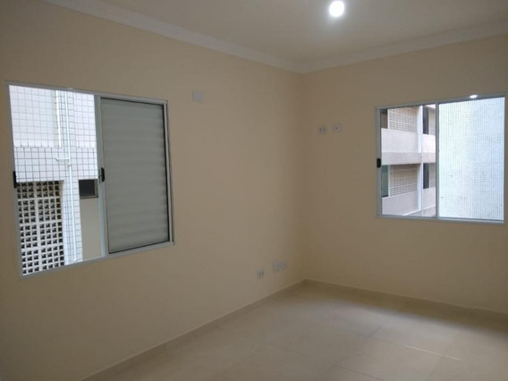 Sala Living Reformada - Vista Mar Lateral - Santos/sp - Kn0035