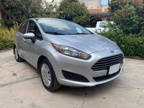 Ford Fiesta 2017 1.6l S Sedan Manual Aa Bolsas Abs Electrico