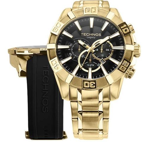 Relógio Technos Legacy Troca Pulseira Os2aaj/4p Frete Grati