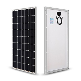 Renogy - Panel Solar Monocristalino De 100 Vat