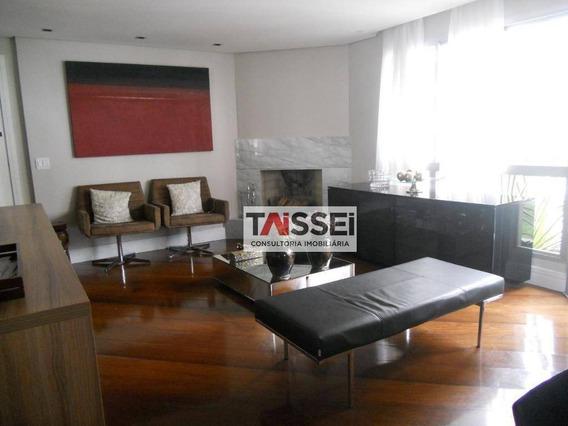 Apartamento Com 4 Dormitórios À Venda, 154 M² Por R$ 1.600.000 - Moema - São Paulo/sp - Ap4142