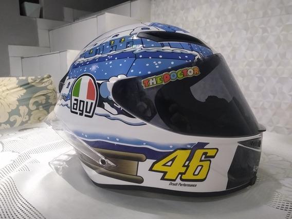 Capacete Agv Tavullia Valentino Rossi Só Essa Semana!!!!