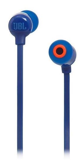 Audífonos Jbl T110 Bluetooth In-ear Azul