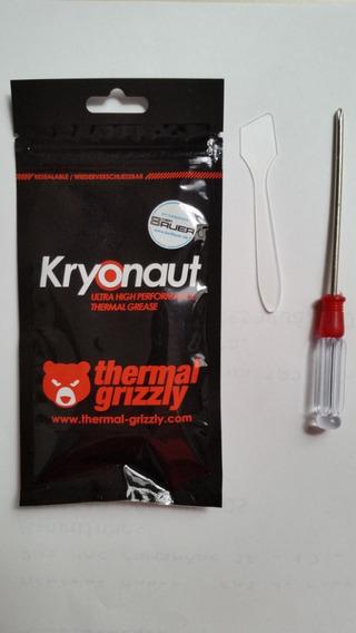 Pasta Térmica Grizzly Kryonaut 1g Com Espátula + Brinde