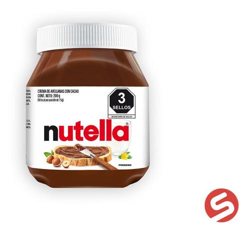 Imagen 1 de 1 de Nutella 200gr