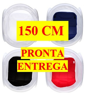 Tenda Profissional Fotográfica 150 Cm Foto Produto No Brasil