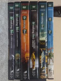 Breaking Bad - Colección Completa Dvd Temporadas Completas