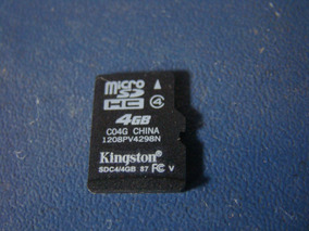 Cartão De Memória Microsd Hc Original Kingston 4gb