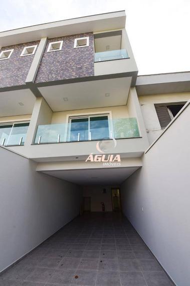 Sobrado Com 3 Dormitórios À Venda, 160 M² Por R$ 860.000,00 - Vila Assunção - Santo André/sp - So1291