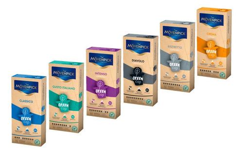 Imagen 1 de 1 de 60 Greencaps Mix Mövenpick Nespresso Compatible