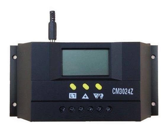 Controlador De Carga Solar Pwm 30a 12e24v