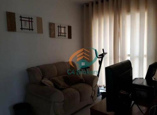 Imagem 1 de 20 de Apartamento À Venda, 50 M² Por R$ 300.000,00 - Bosque Maia - Guarulhos/sp - Ap0644