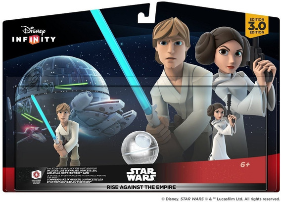 Disney Infinity 3.0 Star Wars Rise Against The Empire Pl Set