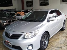 Toyota Corolla 1.8 Xli 2013 Com Multimídia E Couro