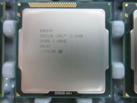 Processador Intel 1155 Core I5-2400 3.10 Turbo Max 3.40 Ghz