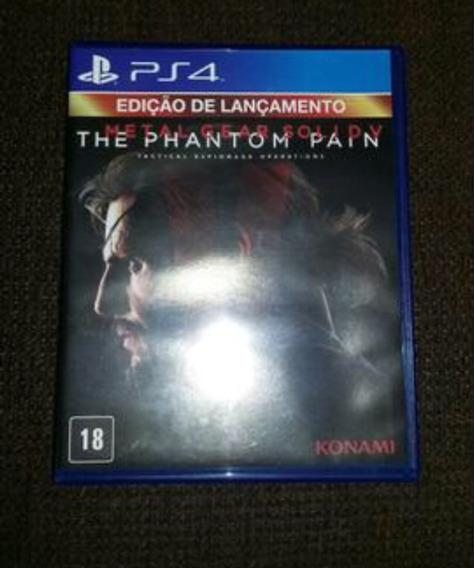 Troco Por Fifa 16 Metal Gear Ps4 Edição De Lançamento
