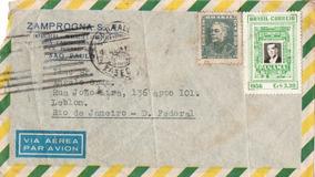 Envelope 1956 Da Empresa Gaúcha Zamprogna S\a