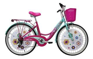 Bicicleta Urbana De Mujer Gosa Sharon Rodada 24