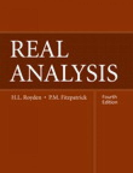 Real Analysis - Pearson - Education