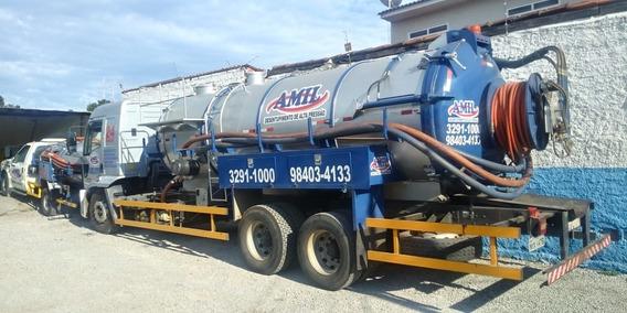 Caminhão Limpa Fossa E Hidrojato De 16 000 Litros