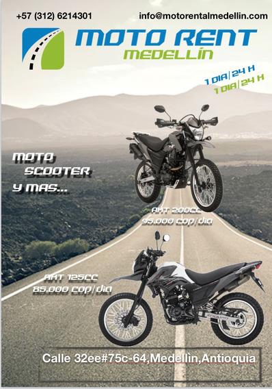Alquier De Moto Medellin- Moto Rent Medellin