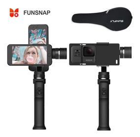 Gimbal Funsnap Estabilizador Smartphone Gopro Gimbal 3 Eixos