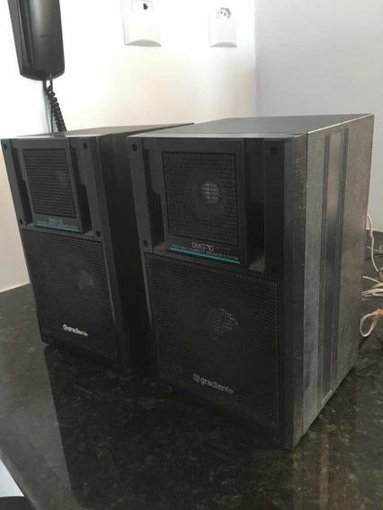 Caixas Acústicas Gradiente Smg-10, Raras!
