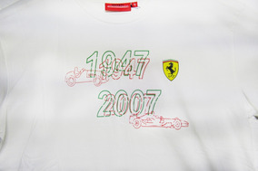Camiseta Ferrari De Niño Evolution