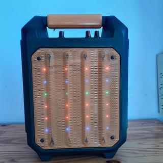 Boombox Parlante Con Luz Led Dinax