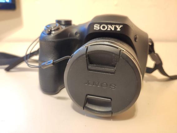 Câmera Sony Cyber Shot Dsc-h300 20.1 Mega Pixels Filma Em Hd